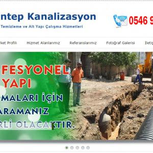 Gaziantep Kanalizasyon Görüntülü Kanal Açma